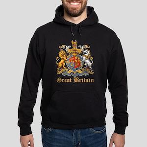 Royal Coat Of Arms Hoodie (dark)