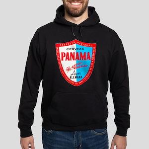 Panama Beer Label 1 Hoodie (dark)