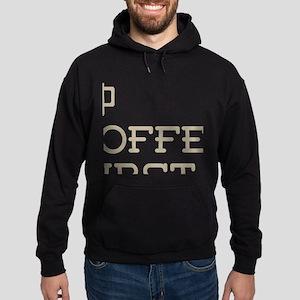 Coffee Then Birding Hoodie (dark)