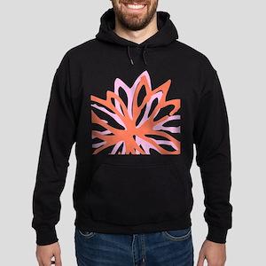 Namaste Flower Hoodie (dark)