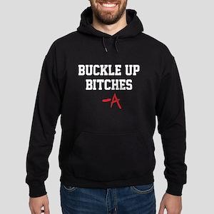 Buckle up, bitches- PLL Hoodie (dark)
