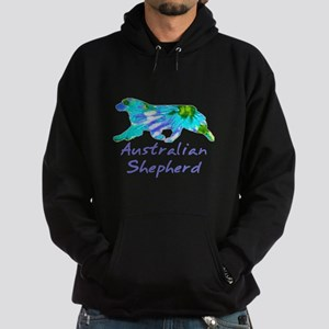 purple light and dark aussie gifts! Sweatshirt