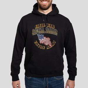 20th Ohio Volunteer Infantry Hoodie (dark)