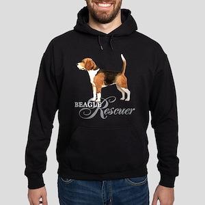 Beagle Rescue Hoodie (dark)