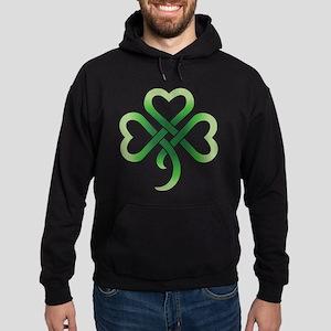 Celtic Clover Hoodie (dark)