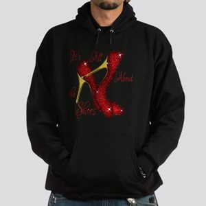 Its All About the Shoes Hoodie (dark)