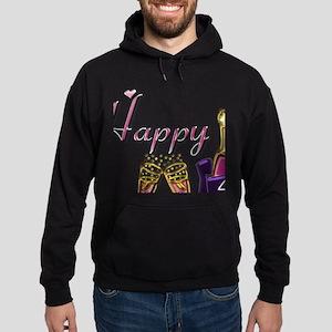 Anniversary pink and purple 40 Hoodie (dark)