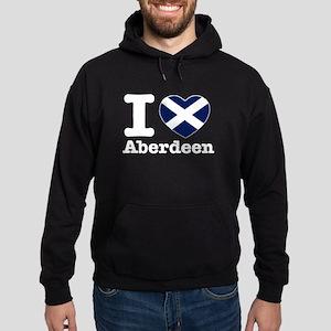 I love Aberdeen Hoodie (dark)