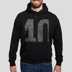 40th Birthday Humor Hoodie (dark)