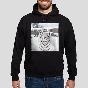 White Tiger Hoodie (dark)