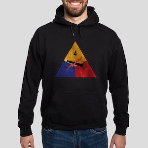 4th Armored Division Vintage Hoodie (dark)