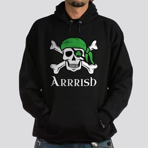 Irish Pirate - Arrrish Hoodie (dark)