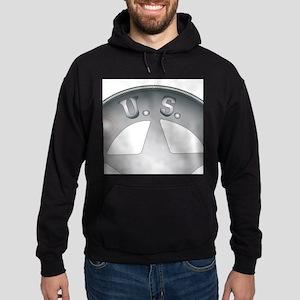 US Marshal Badge Hoodie (dark)
