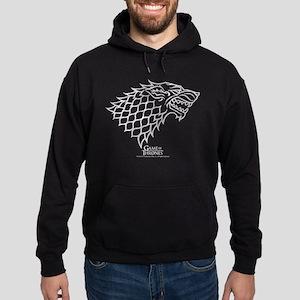Game of Thrones House Stark Wolf Hoodie (dark)