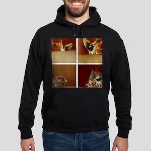 Giraffe Collage Sweatshirt