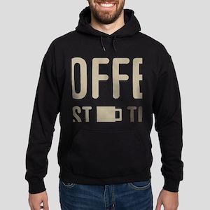 Coffee Then Microbiology Hoodie (dark)