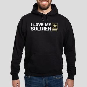 U.S. Army: I Love My Soldier Hoodie