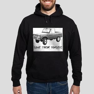 Love Them Topless Half Sweatshirt