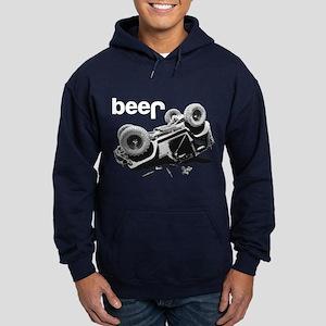 Funny beer 4x4 Hoodie
