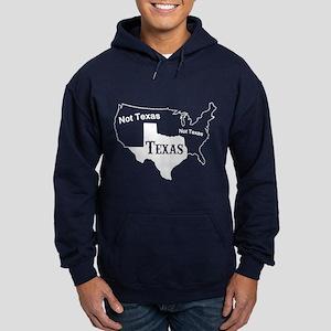 Texas Not Texas T Shirt Hoodie