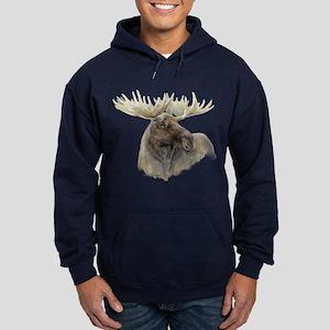 Proud Bull Moose Hoodie (dark)