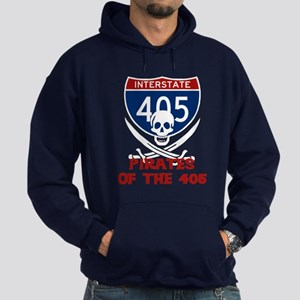 Pirates of the 405 Hoodie (dark)