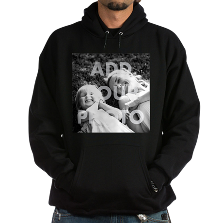 Add Your Own Photo Hoodie (dark)