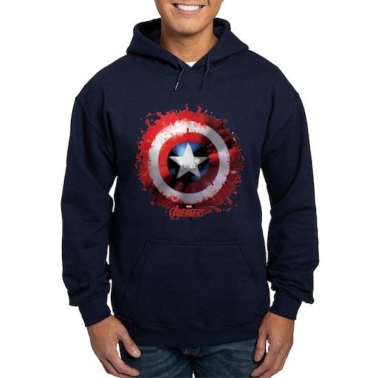 Avengers Cap Shield Spattered