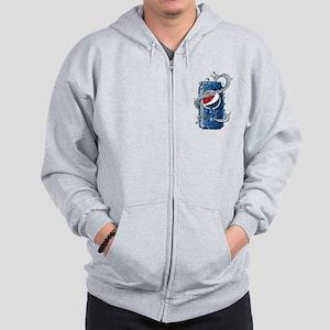 Pepsi Can Doodle Zip Hoodie