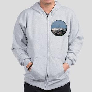Helaine's Alcatraz Island Zip Hoodie