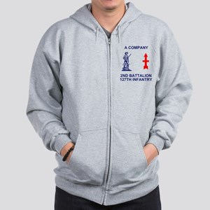 ARNG-127th-Infantry-A-Co-Shirt-4-Blue.g Zip Hoodie