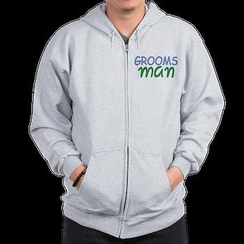 groomsman zip hoodie