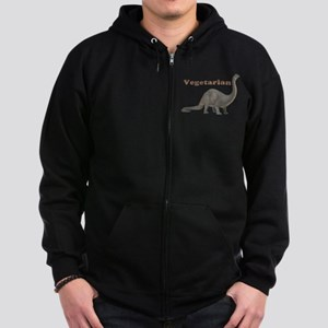 Brontosaurus Men S Zip Up Hoodies Cafepress