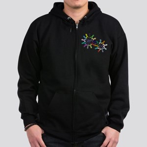 Hope For A Cure Zip Hoodie