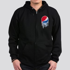 Pepsi Varsity Drip Zip Hoodie (dark)