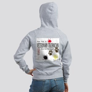 Yes I'm A Veterinary Technician Women's Zip Hoodie