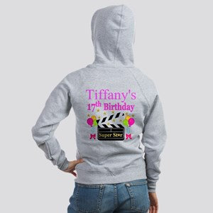 PERSONALIZED 17TH Women's Zip Hoodie