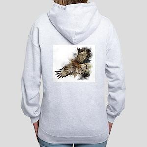 Falcon Flight Women's Zip Hoodie Sweatshirt