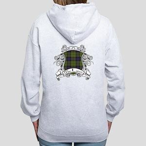MacLaren Tartan Shield Women's Zip Hoodie