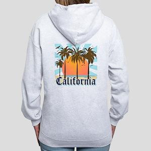 Vintage California Women's Zip Hoodie