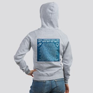 Dirty Computers Women's Zip Hoodie