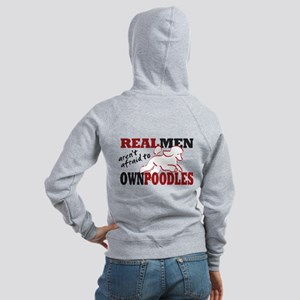 Real Men Women's Zip Hoodie