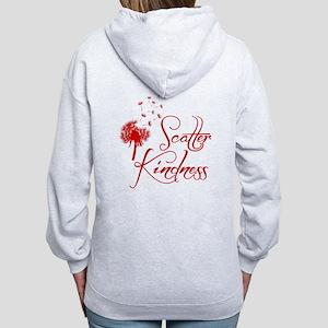SCATTER (both sides) Women's Zip Hoodie