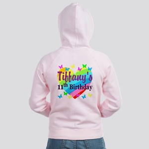 PERSONALIZED 11TH Women's Zip Hoodie
