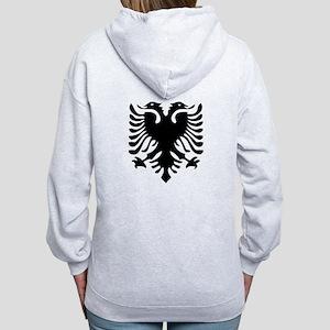 Albanian Eagle Women's Zip Hoodie