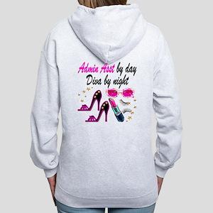 TOP ADMIN ASST Women's Zip Hoodie