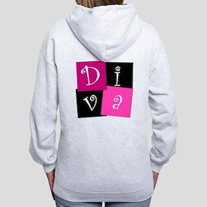 DIVA Design! Women's Zip Hoodie