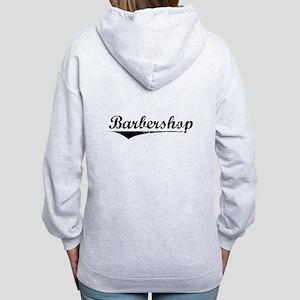 barbershop Women's Zip Hoodie