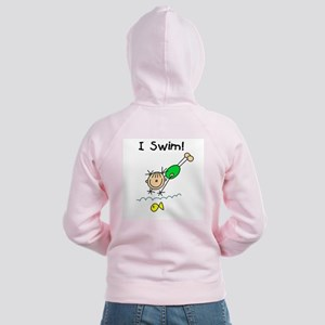 Girl I Swim Women's Zip Hoodie
