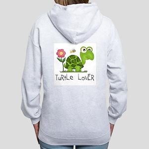 Turtle Lover Women's Zip Hoodie